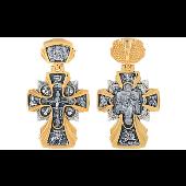 Крест Икона Державная с золотым покрытием, серебро