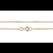 Цепь Якорная, желтое золото 1,5мм