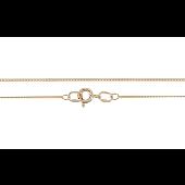 Цепь Панцирная, желтое золото 0.9мм