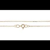 Цепь Якорная, желтое золото 1мм