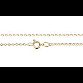 Цепь Якорная, желтое золото