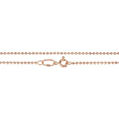 Цепь Перлина из красного золота 585 пробы