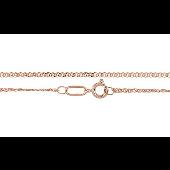 Цепь Нонна из красного золота 585 пробы