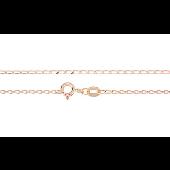 Цепь Фантазийная из красного золота 585 пробы