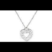 Колье Сердце без камня Morgan de toi, серебро