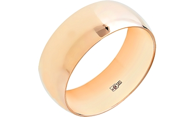 Бухтированные обручальные кольца
