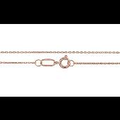 Цепь Якорная из красного золота 585 пробы