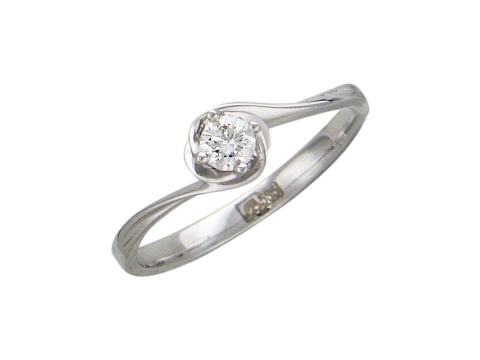 Кольцо с бриллиантами - купить Кольцо с бриллиантами, белый Золото 585, Н9К627123, в интернет-магазине MyMiss.ru
