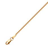 Цепь Перла из красного золота 585 пробы