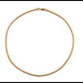 Цепь Фанзийная из красного золота 585 пробы