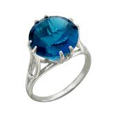 Кольцо с турмалином, серебро