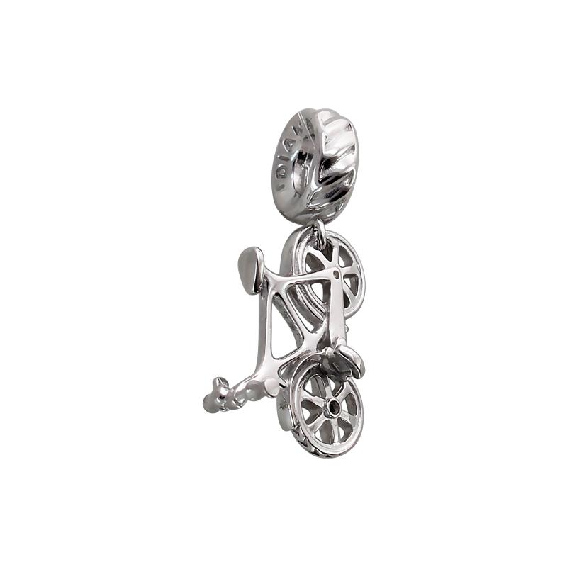 Подвеска-Шарм Велосипед, серебро