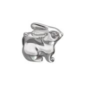 Подвеска-шарм Заяц, серебро