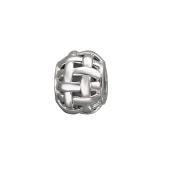 Подвеска-шарм Корзинка, серебро