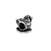Подвекса-Шарм Мыши в чашке, серебро с чернением
