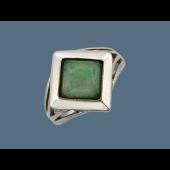 Кольцо с лазуритом, серебро