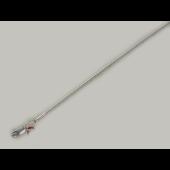 Цепь Снейк из серебра 925 пробы 1мм
