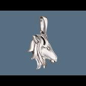 Кулон Голова Лошади, серебро