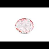 Кольцо с розовым перламутром, серебро