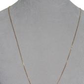 Цепь Якорная с хвостиком, красное золото 1.1мм