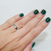 Обручальное кольцо Белое золото, 585 пробы ширина шинки 5.00 мм