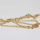 Цепь Якорная, жёлтое золото, 585 проба