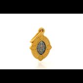 Икона Казанская Божья Матерь, серебро с золотым покрытием