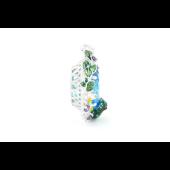 Подвеска Лягушка на Озере с фианитами и эмалью, серебро