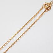 Цепь Якорная, желтое золото 2мм